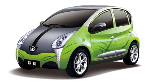 新能源电动车长城欧拉高清图片